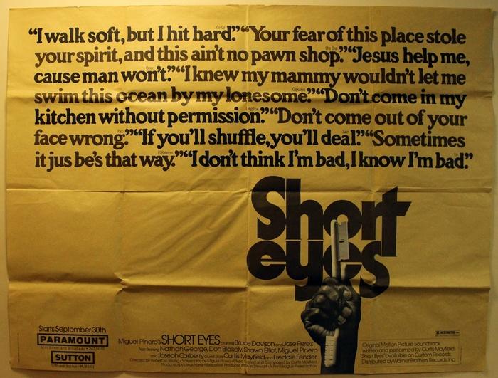 Short Eyes (1977) movie posters 2