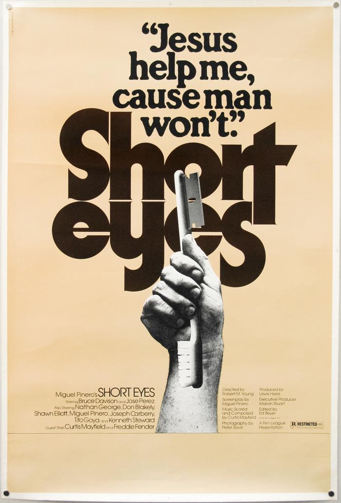 Short Eyes (1977) movie posters 1