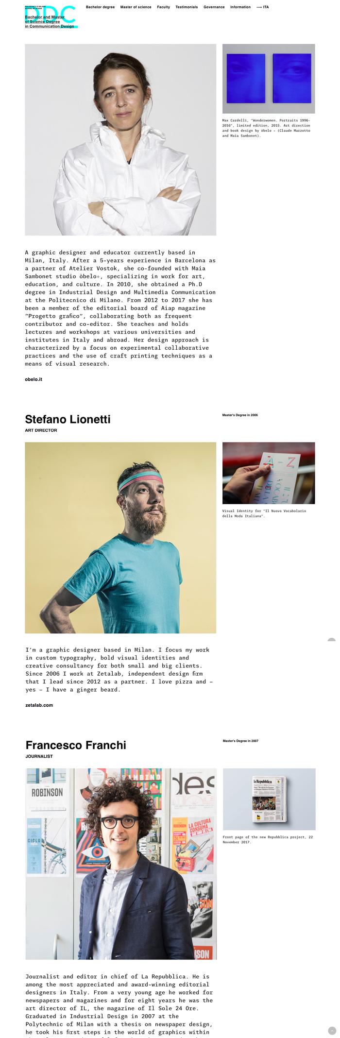 DDC – Design della Comunicazione website 4