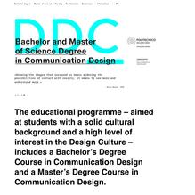DDC – Design della Comunicazione website