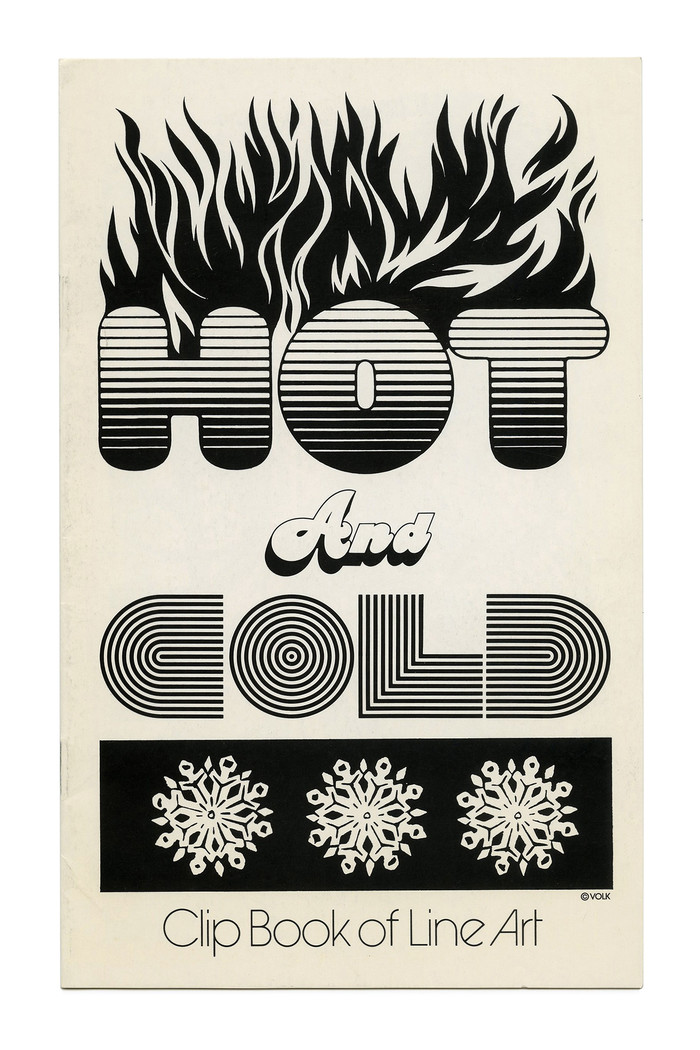 """""""Hot & Cold"""" (No. 228) ft.  and . """"COLD"""" appears to be based on , with the outer lines removed. All three faces are original designs carried by ."""