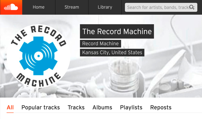 The logo as used on the label's Soundcloud page.
