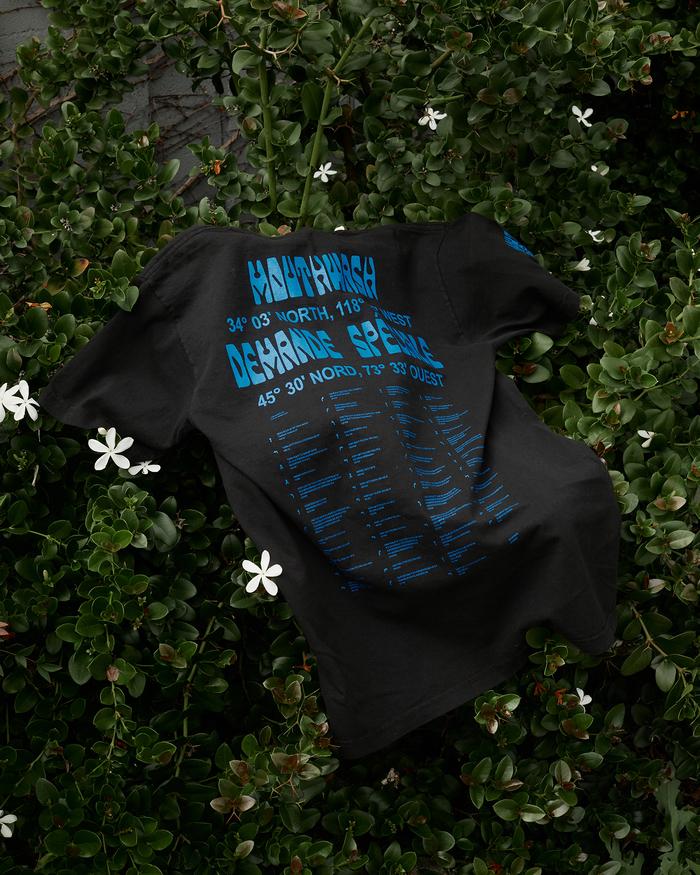 Mouthwash & Demande Spéciale T-shirt collaboration 1