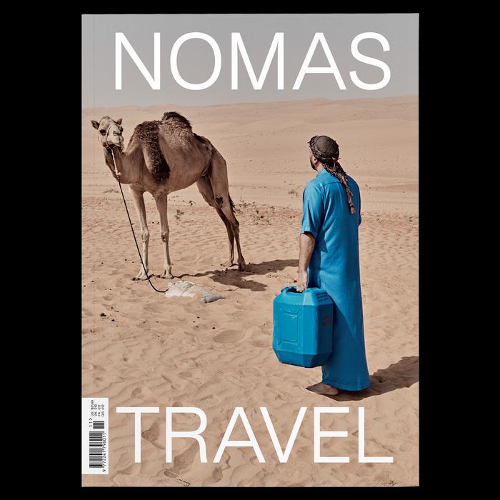 """NOMAS magazine issue 11, """"Travel"""" 1"""