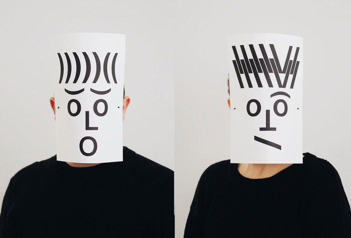 Typographic masks, 2020 2