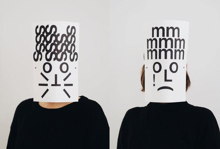 Typographic masks, 2020 4