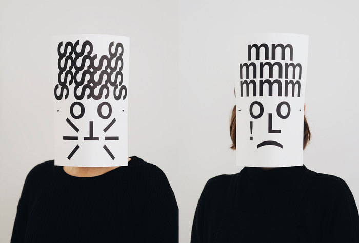 Typographic masks, 2020 4