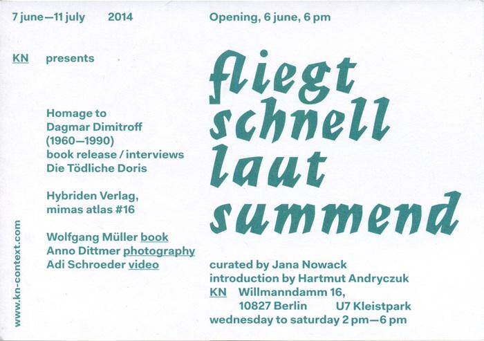 Fliegt schnell laut summend flyer (back) ft. Imre Reiner's  (1957).