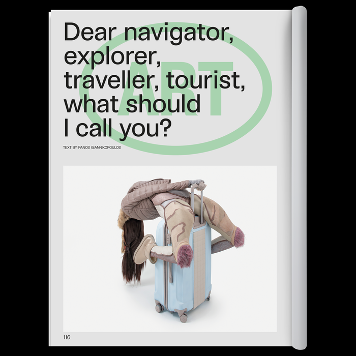 """NOMAS magazine issue 11, """"Travel"""" 7"""