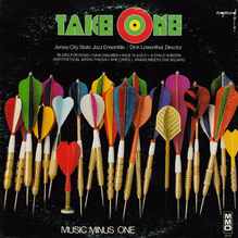 Jersey City State Jazz Ensemble – <cite>Take One</cite> album art