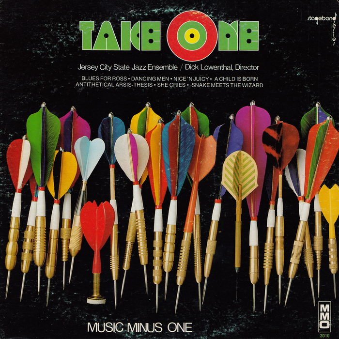Jersey City State Jazz Ensemble – Take One album art