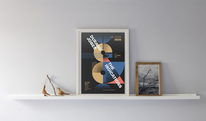 Durand Jones & The Indications fan art poster 2
