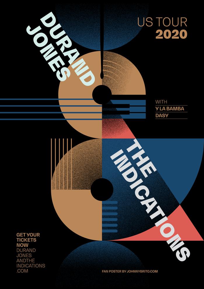 Durand Jones & The Indications fan art poster 1