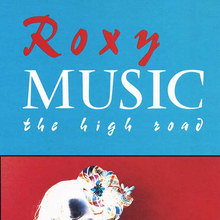 Roxy Music – <cite>The High Road</cite> VHS cover