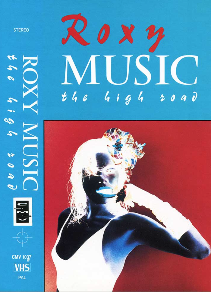 Roxy Music – The High Road VHS cover