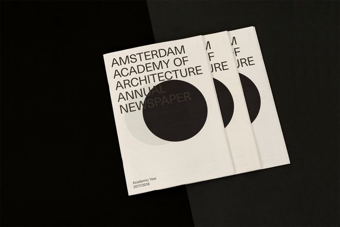 Annual Newspaper – Amsterdam Academy of Architecture 2