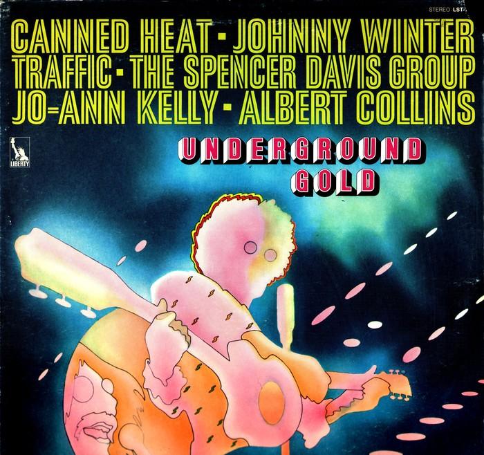 Various Artists – Underground Gold album art