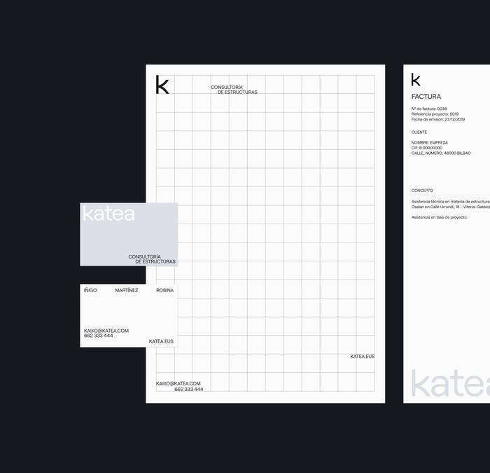 Katea identity and website 3
