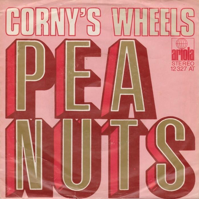 "Corny's – ""Peanuts"" / ""Wheels"" German single cover"