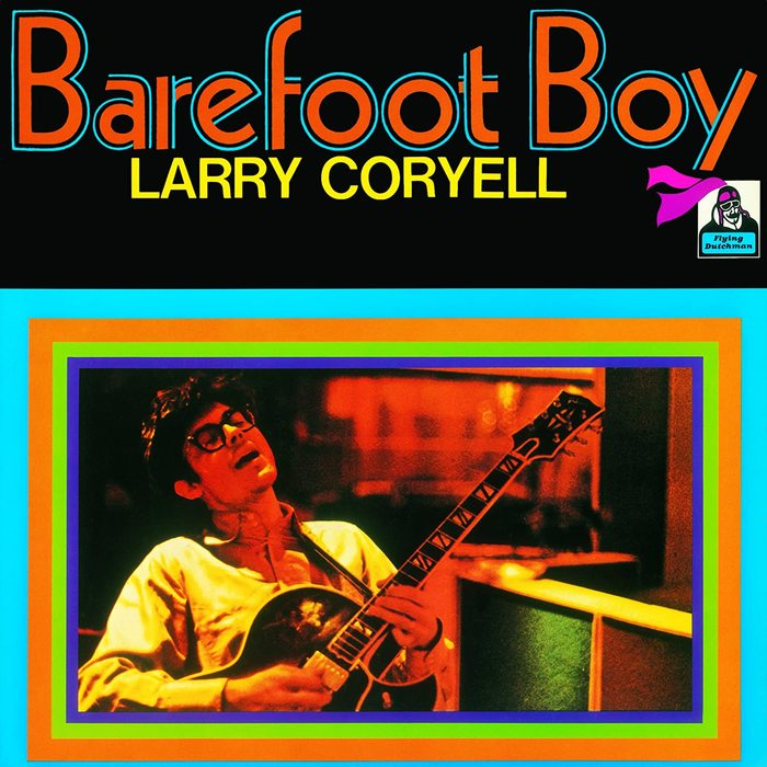 Larry Coryell – Barefoot Boy album cover