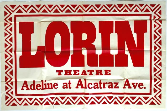 Lorin Theatre broadside