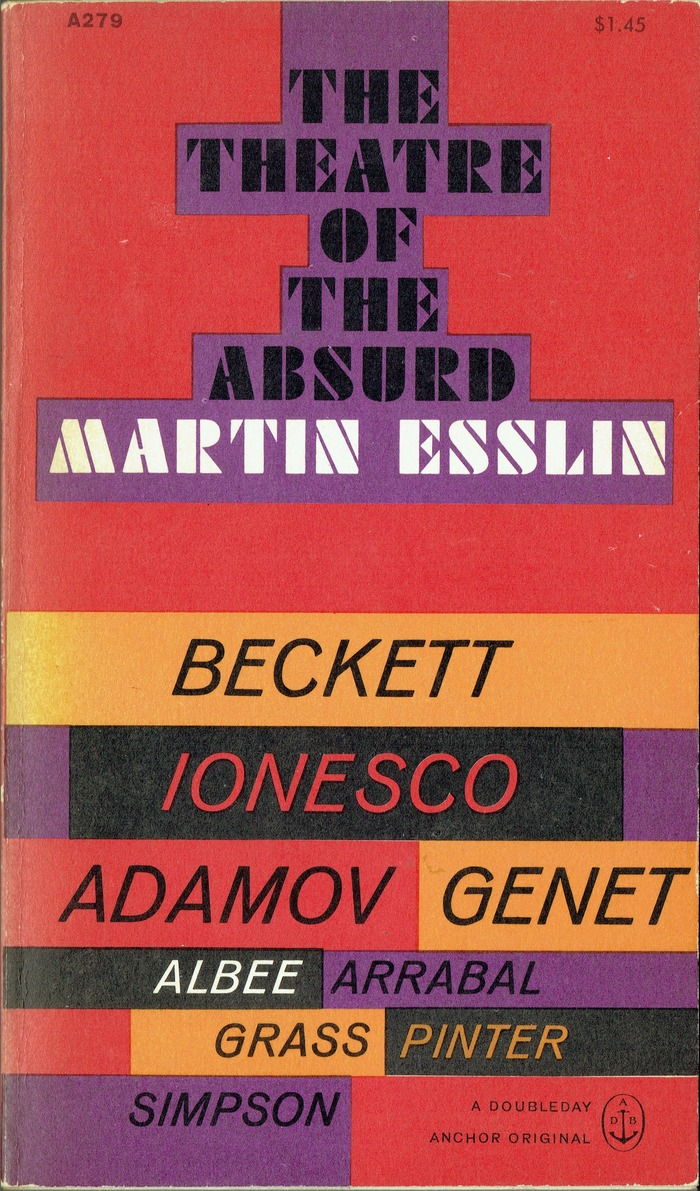 The Theatre of the Absurd by Martin Esslin 1