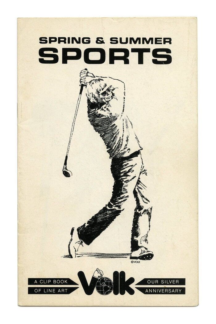 """""""Spring & Summer Sports"""" (No. 675) ft.  Bold Extended in all caps."""