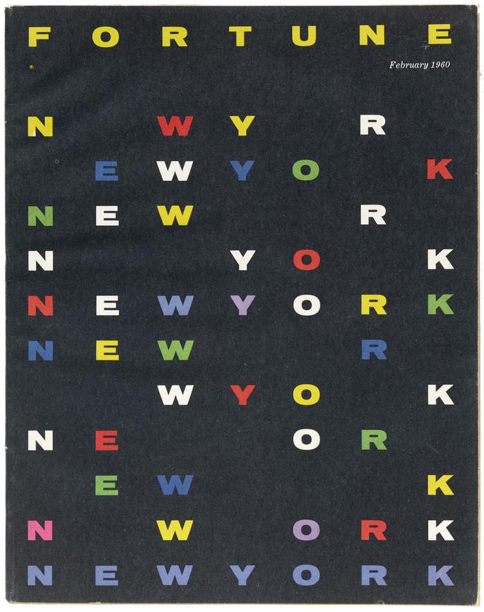 Fortune, Feb 1960 magazine cover