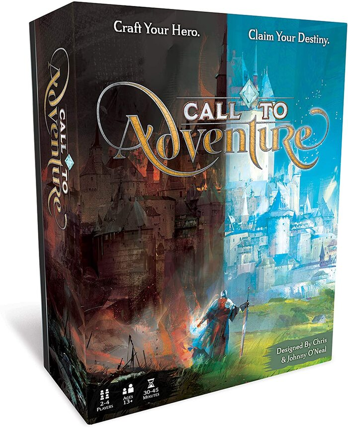 Call to Adventure board game 2