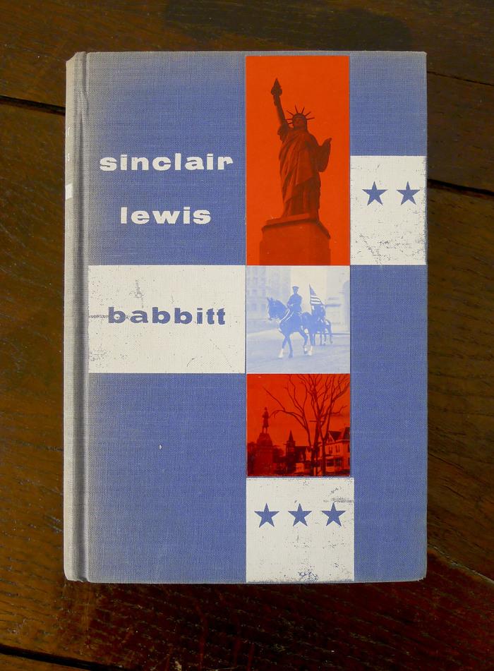 Babbitt by Sinclair Lewis, Club des Éditeurs 1