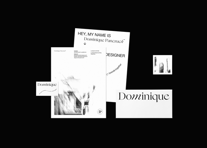 Dominique personal identity 3