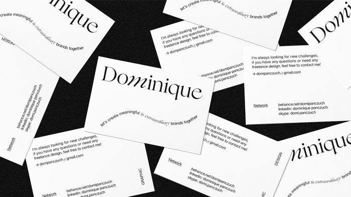 Dominique personal identity 1