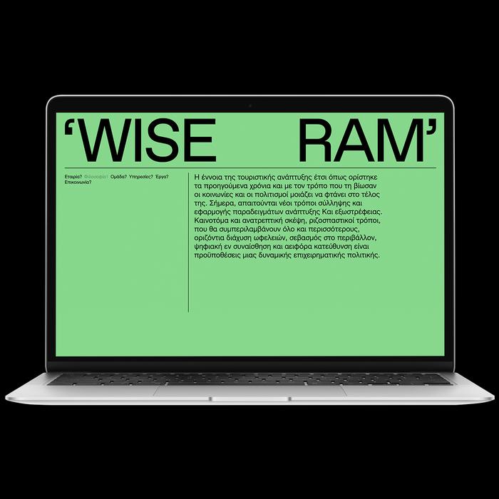 Wise Ram visual identity 6