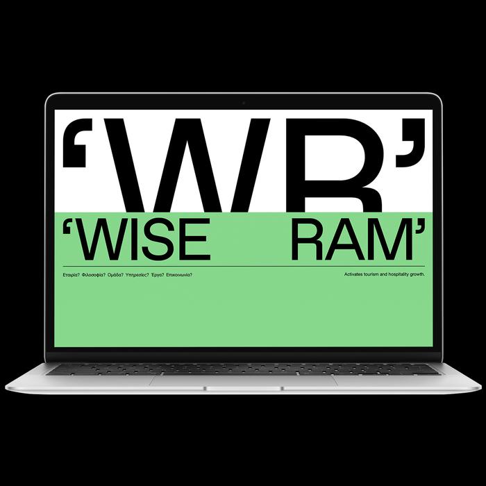 Wise Ram visual identity 3