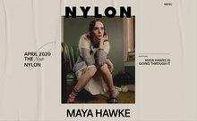 <cite>Nylon</cite> magazine website