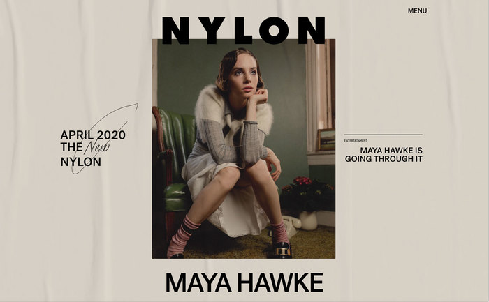 Nylon magazine website 1