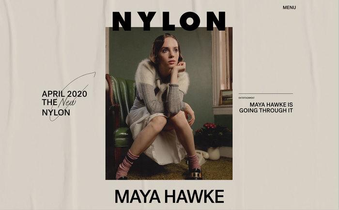 Nylon magazine website 1