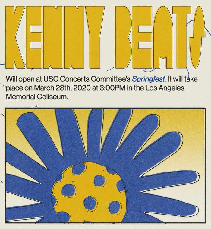 USC Springfest 2020 branding 2