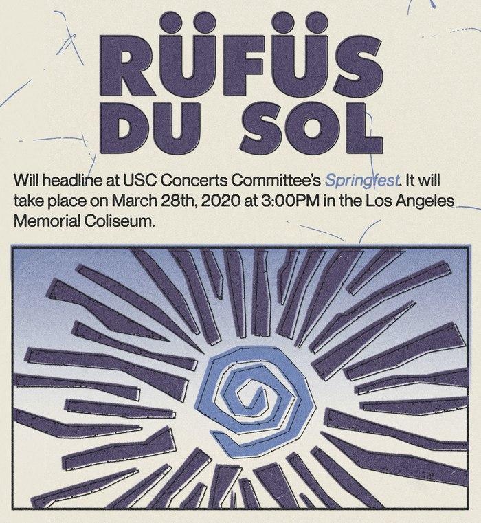 The band logo of Rüfüs Du Sol is based on .