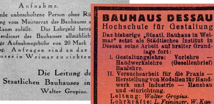 Bauhaus Serifs