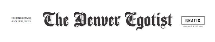 The Denver Egotist logo