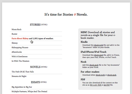 Stories & Novels