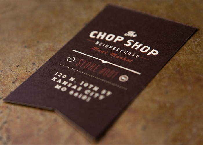 Chop Shop Business Card