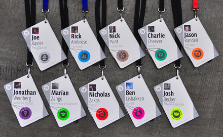 f8 Conference Badges