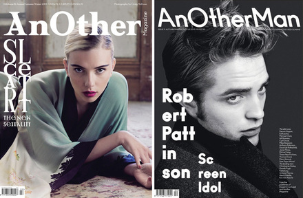 <cite>AnOther</cite> and <cite>AnOther Man</cite> magazines