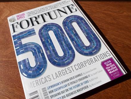 """<cite>Fortune</cite> Magazine, """"500"""" Issue"""