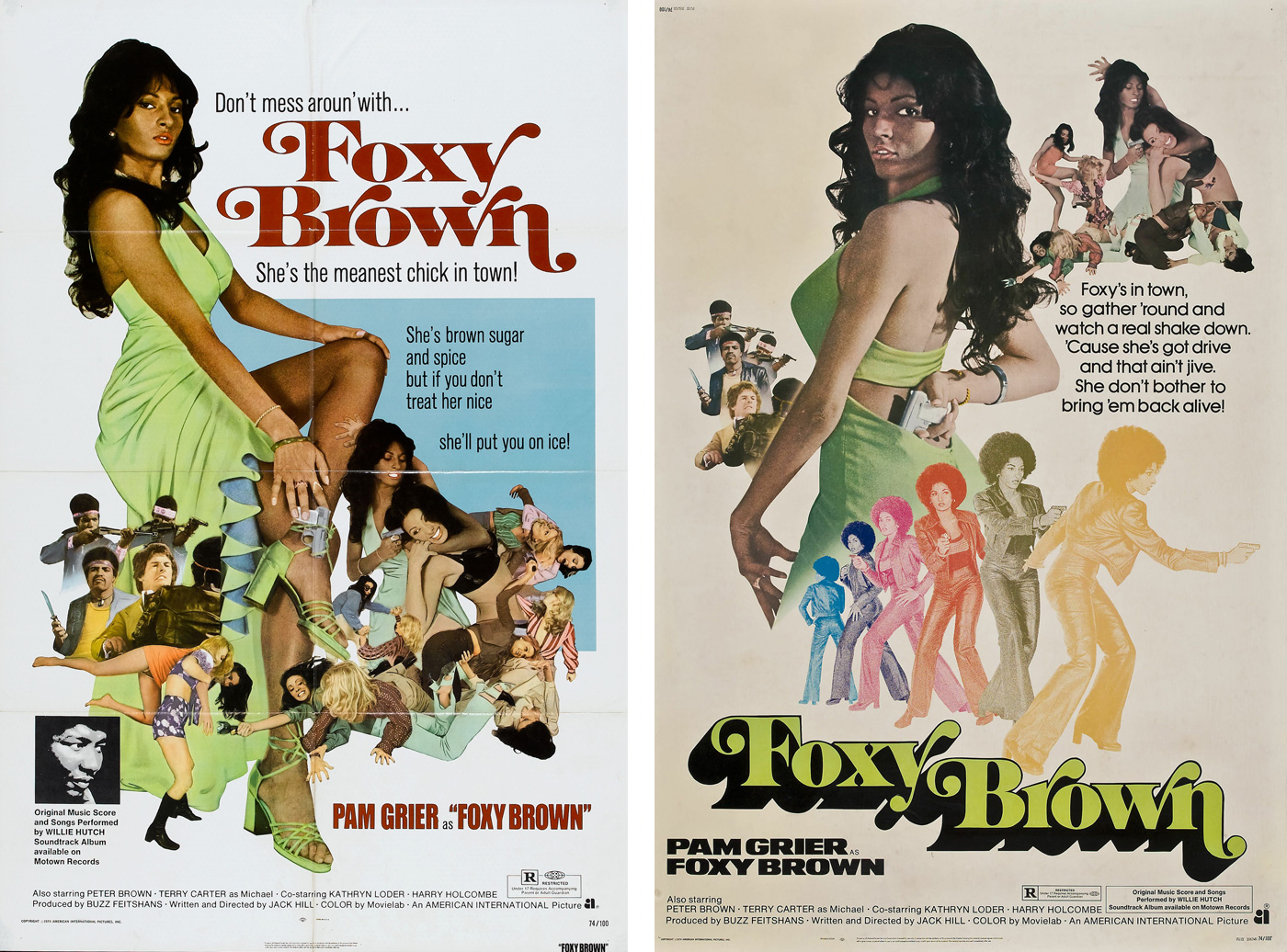 Foxy Brown Movie Posters