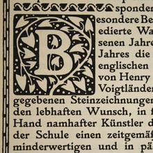 From Larisch's Plinius to Larish Alte and Larish Neue