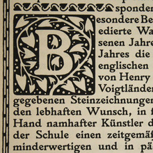 From Larisch's Plinius to Larish Alte and Larish Neue