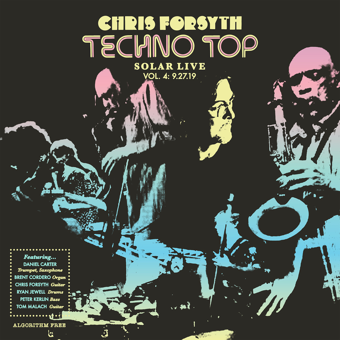 Chris Forsyth – Techno Top album art